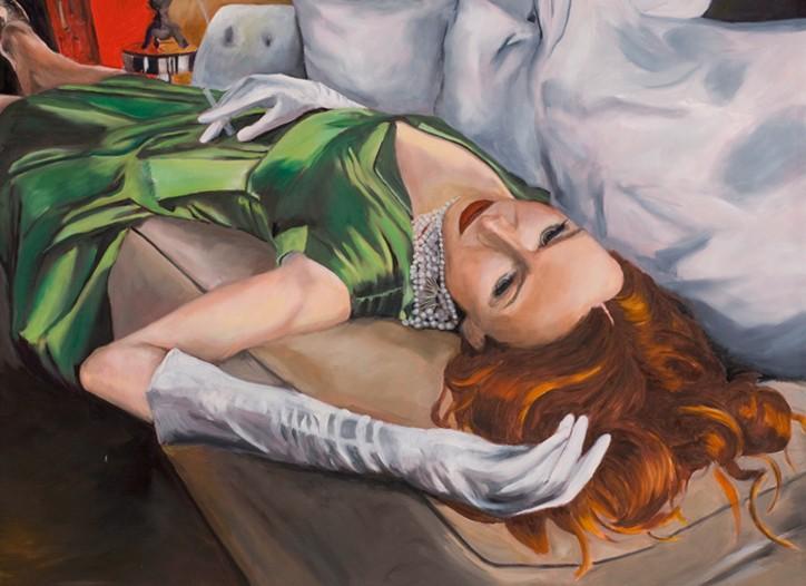 Kimberly Brooks' portrait of stylist Janie Bryant.