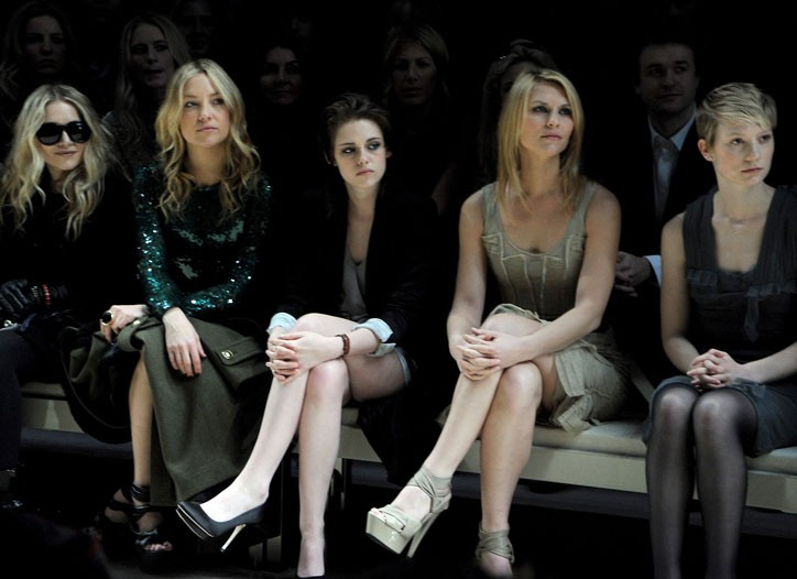 Mary-Kate Olsen, Kate Hudson, Kristen Stewart, Claire Danes, and Mia Wasikowska