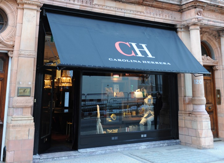 The new CH Carolina Herrera store on Mount Street in London.
