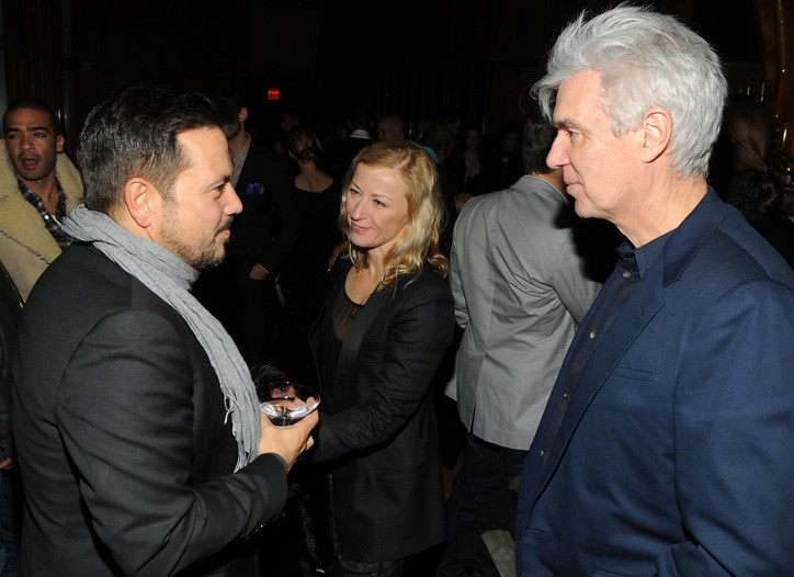 Narciso Rodriguez, Cindy Sherman and David Byrne