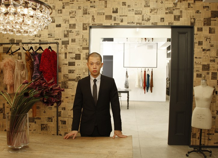 Jason Wu in his new office.