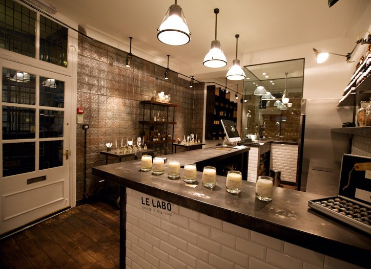 A look at Le Labo's London store.