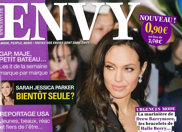 The cover of Envy.