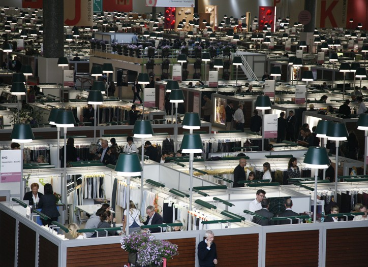 View of the Première Vision Fair.
