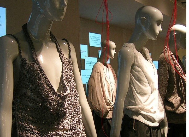 Filpucci's trend display.