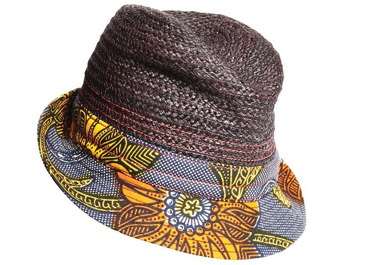 Lola raffia and cotton hat