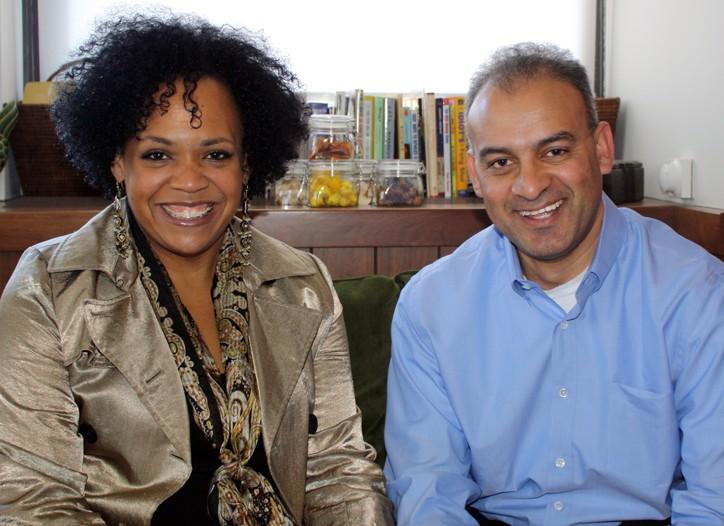 Lisa Price and Richard Dantas