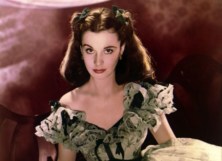 """Vivien Leigh as Scarlett O'Hara in """"Gone with the Wind,"""" 1939."""