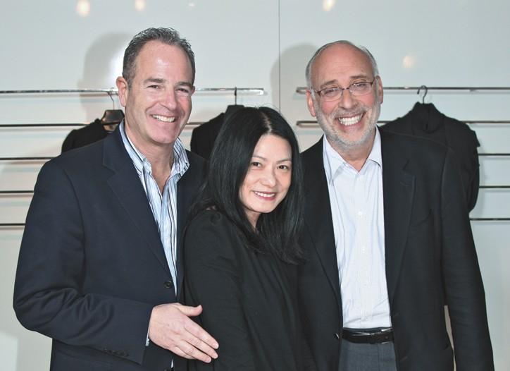 Michael Warner, Vivienne Tam and Steven Sall.