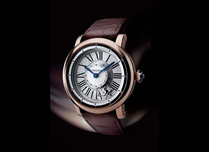 Cartier's Rotonde de Cartier Astrotourbillon watch.