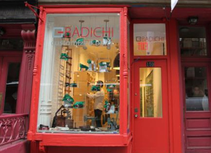 The Badichi store offers belts from $60 to $400.