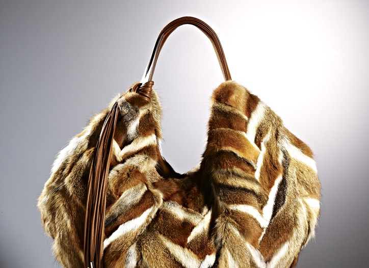 A handbag from Elie Tahari's fall collection.