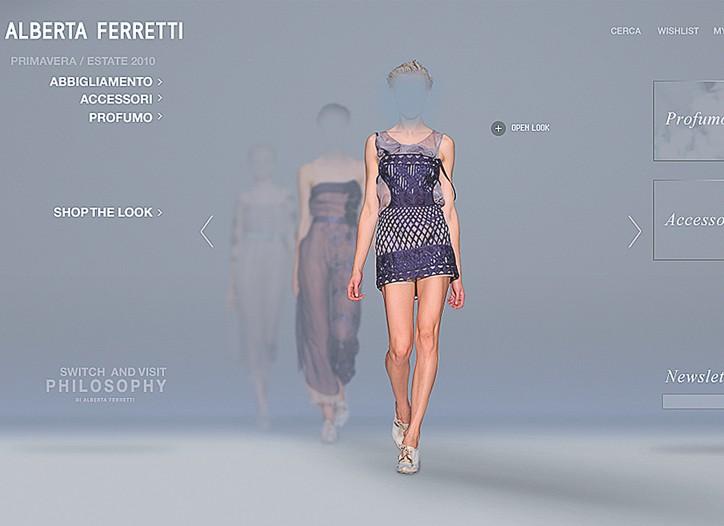 The Alberta Ferretti Web site.