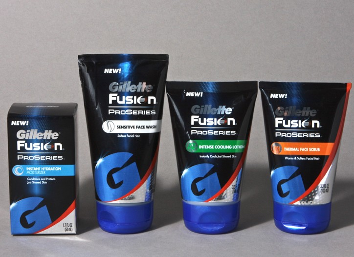The Gillette Fusion ProSeries line.