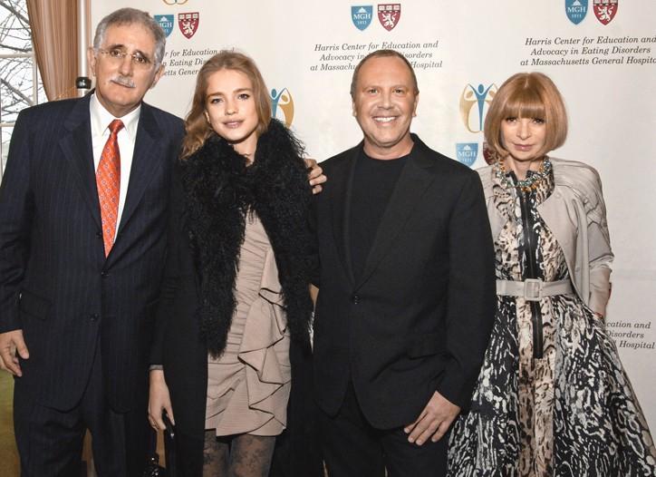 Dr. David B. Herzog, Natalia Vodianova, Michael Kors and Anna Wintour.
