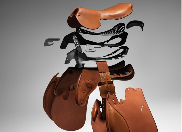 The Talaris saddle by Hermès.