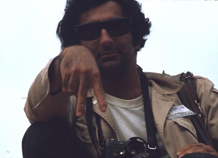 Jim Marshall at Woodstock.
