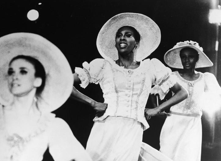 "Jamison (center) performing ""Revelations"" in 1970."