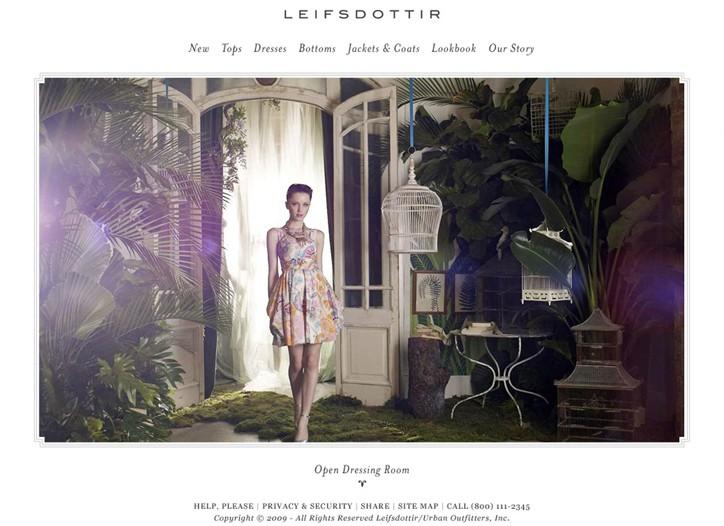 Leifsdottir homepage.