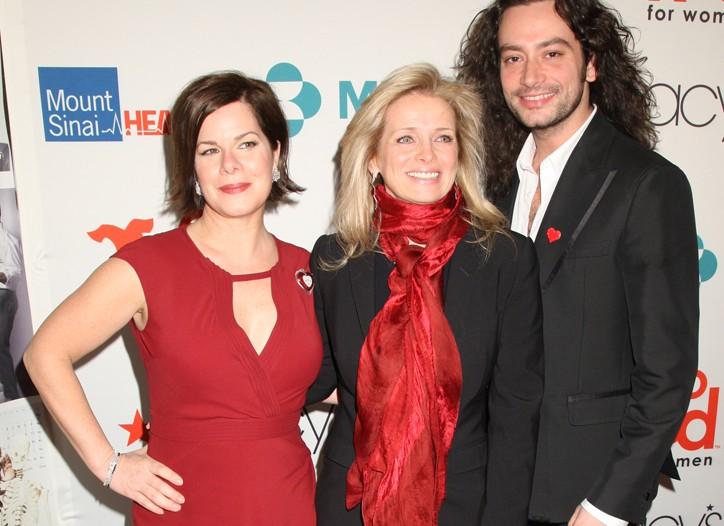 Marcia Gay Harden, Martine Reardon and Constantine Maroulis.