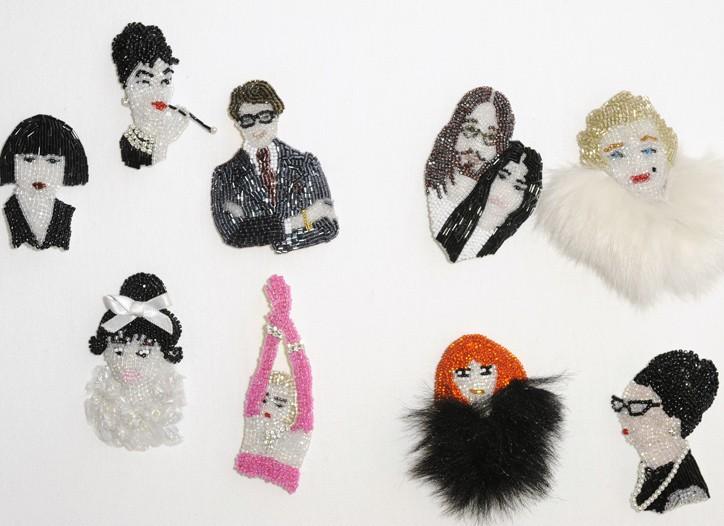 Pins by Marianne Batlle.