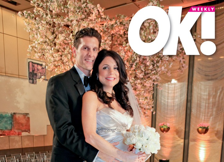 Jason Hoppy and Bethenny Frankel from OK! magazine.