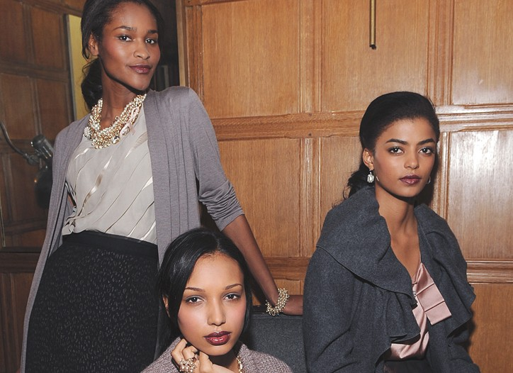 Ann Taylor's relaxed Parisian chic for fall.