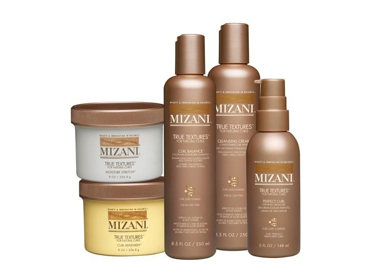 Mizani's True Textures items.