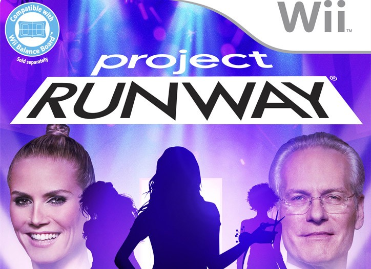 "The ""Project Runway"" video game."