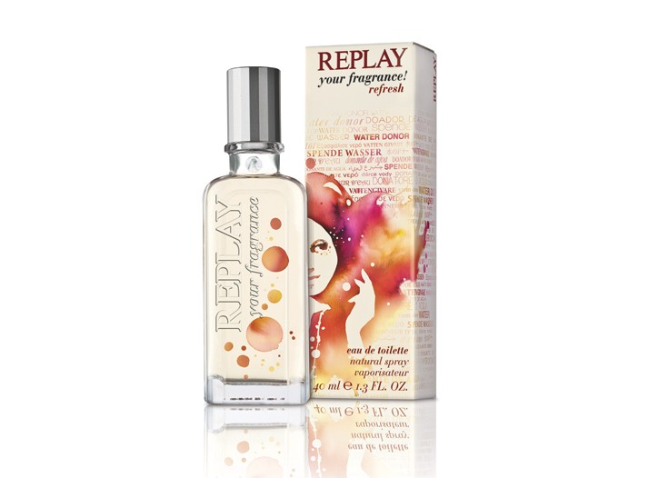 The Replay Refresh women's scent.