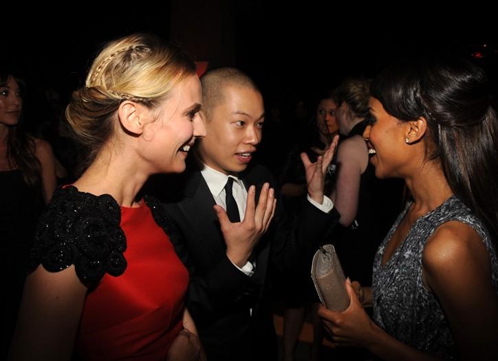Diane Kruger, Jason Wu, and Kerry Washington.