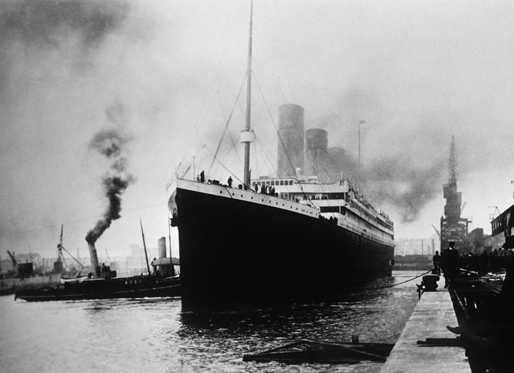 RMS Titanic, 1912.