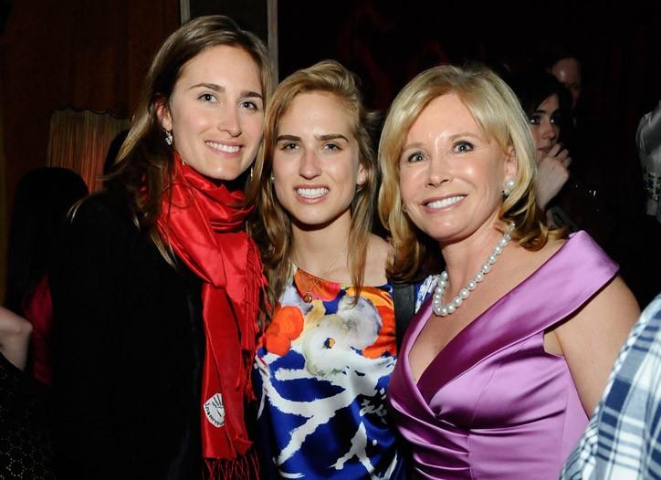Lauren, Ashley and Sharon Bush