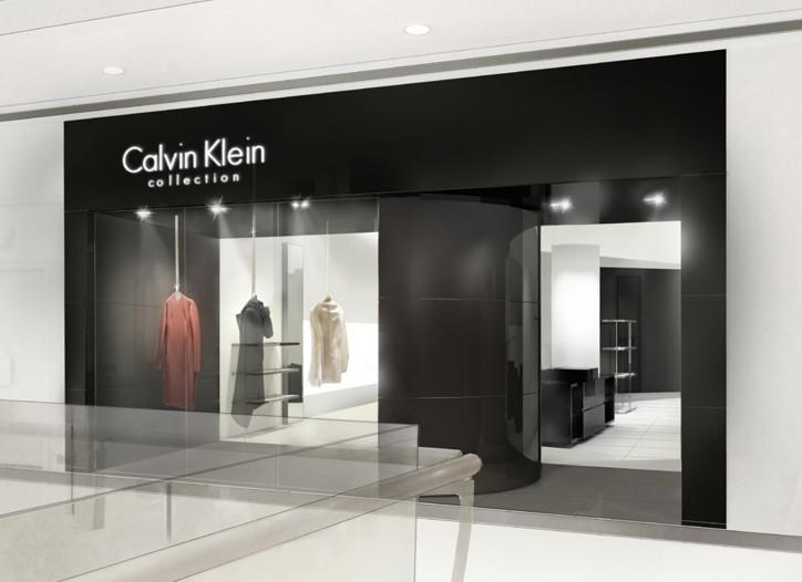 Enzo Manola created the concept for Shanghai's Calvin Klein Collection boutique.
