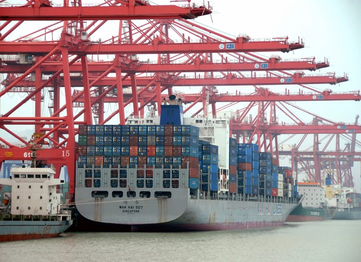 China has gained a greater share of the export market during the financial crisis.