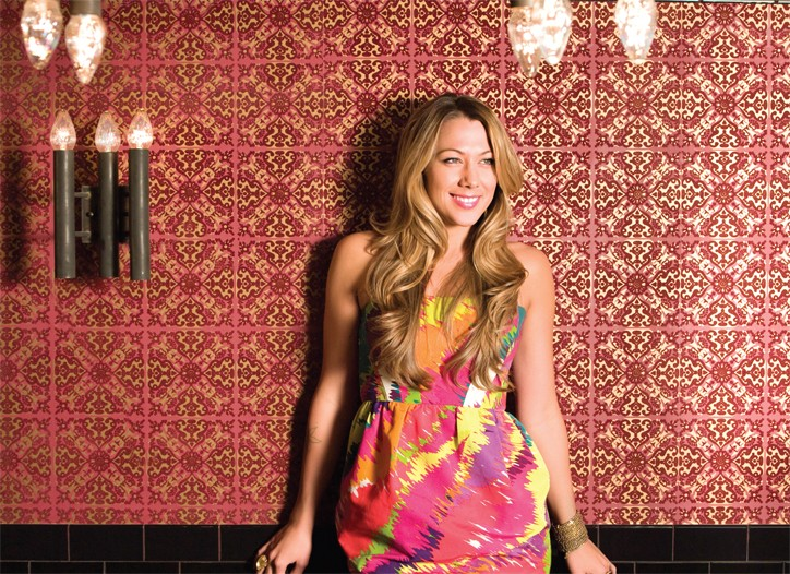 Colbie Caillat in the latest Cotton campaign.