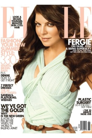 Elle's May Cover