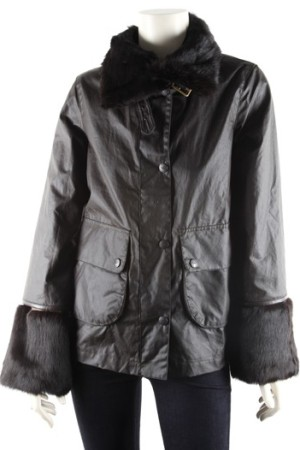 Anya Hindmarch's Foxy jacket for Barbour.