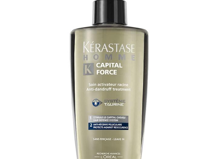 Kérastase Homme Capital Force Daily treatment shampoo.