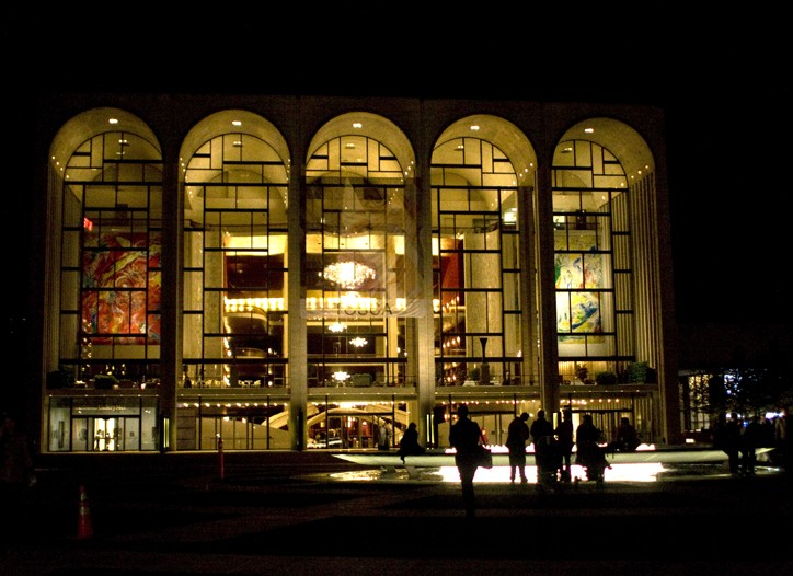 Fashion's Night Out's public fashion show will take place at Lincoln Center.