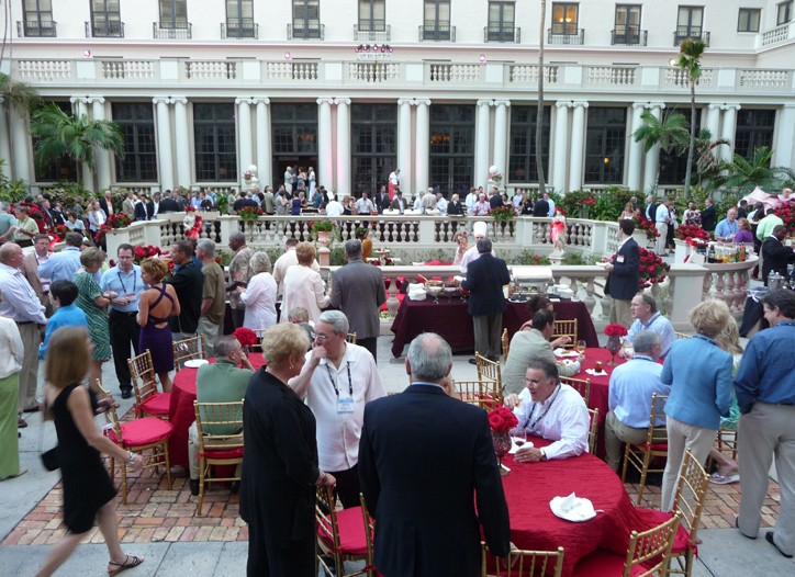 The NACDS welcoming reception.