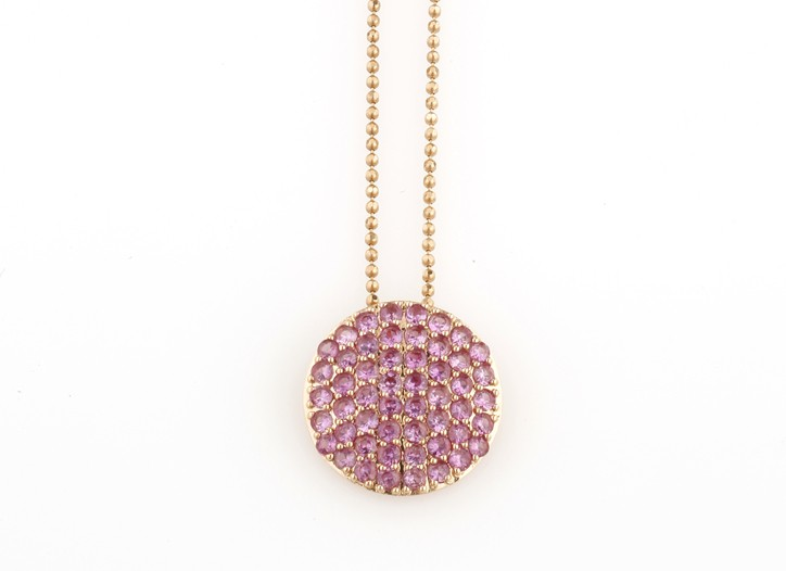 A necklace by Phillips Frankel.