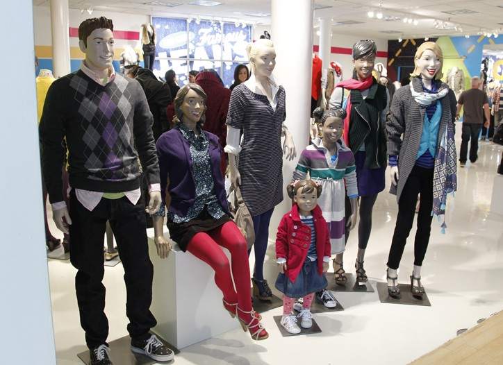 Looks from Old Navy Fall 2010.