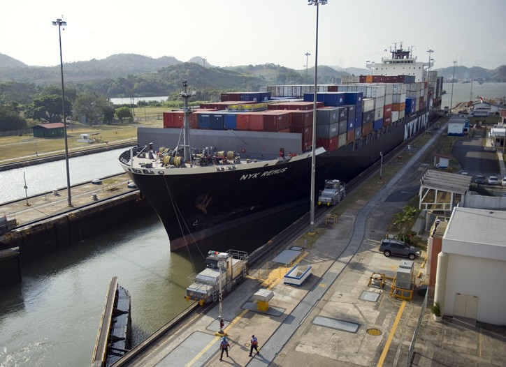 The locks of the Panama Canal are being expanded to accommodate ships twice the size of those currently able to pass through.