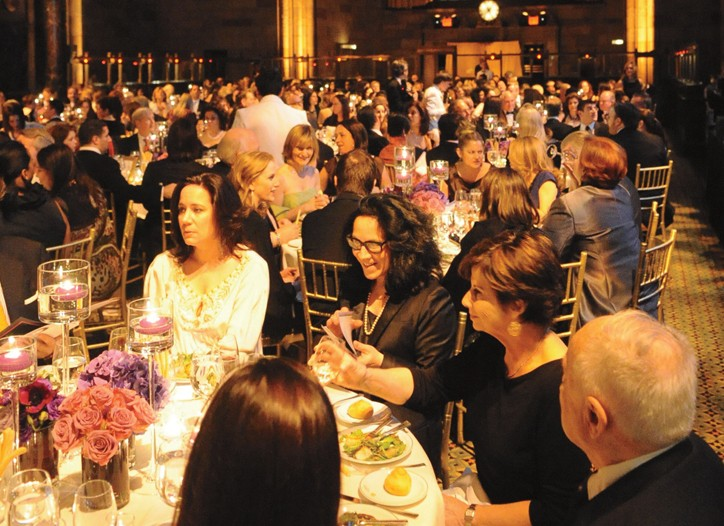 The scene at Cipriani at The March of Dimes Beauty Ball.