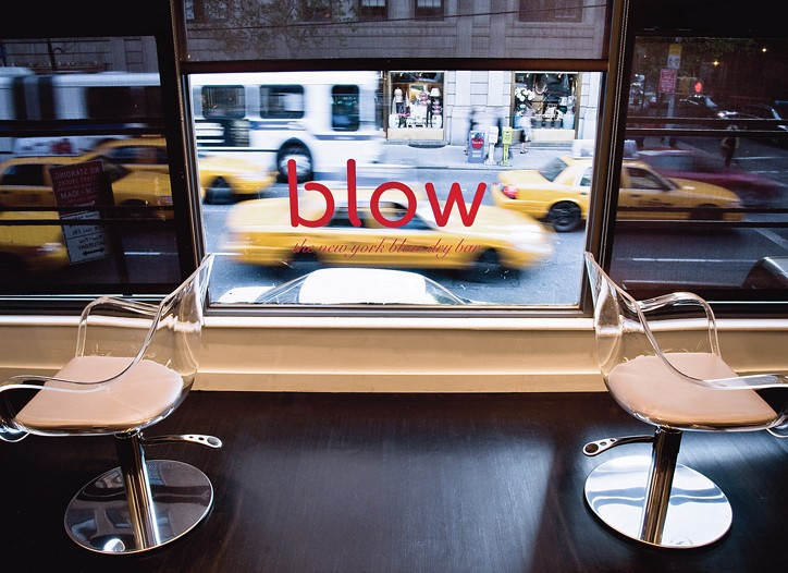 Blow, the first blowout salon to open five years ago in Manhattan.