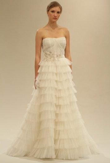 Reem Acra Bridal Spring 2011