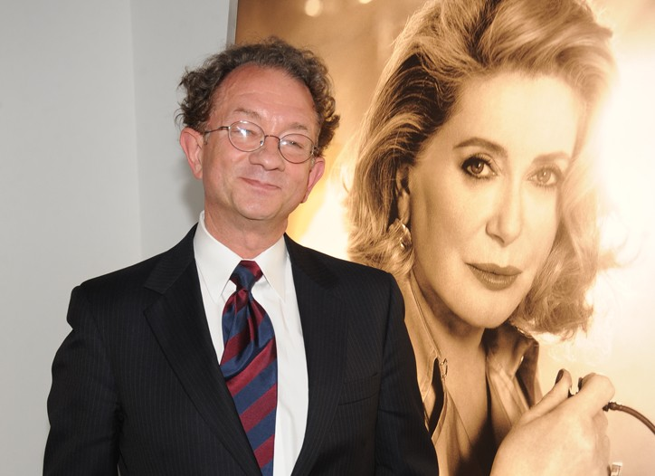 William Ivey Long beside an image of Catherine Deneuve.