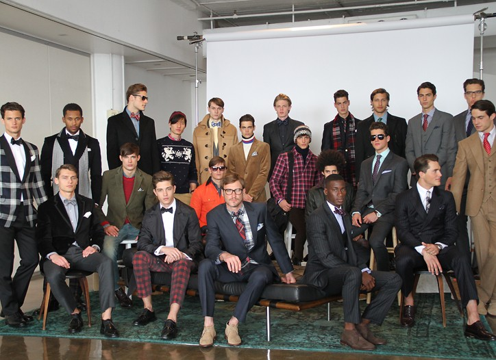 Looks from Tommy Hilfiger's tailored line for fall.