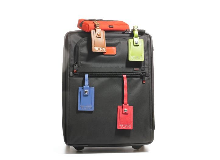 Luggage by Tumi.